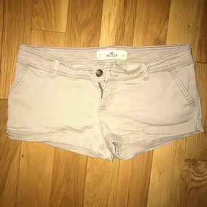 Tan Hollister Shorts
